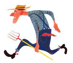 CHILDREN'S ILLUSTRATION: March 2007 #illustration
