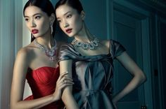 Du Juan and Bonnie Chen by Richard Ramos #fashion #photography #inspiration