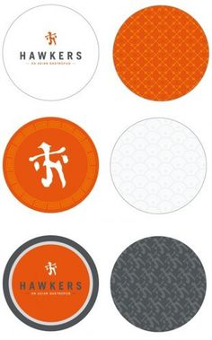 Hawkers branding #pattern #asian #texture #restaurant