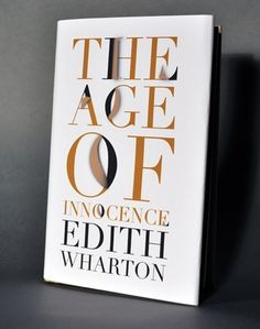 Age of Innocence #cover #type #book #typography