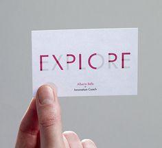 business card explore 2 #card #explore #business