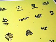 Promo #logo #pack #yellow #design