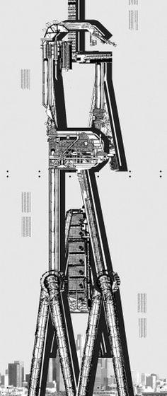 Archigram - F C H i C H K 'L #eric #illustration #poster #hu #typography