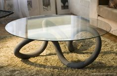 Toroid Table #interior #creative #modern #design #furniture #architecture #art #decoration
