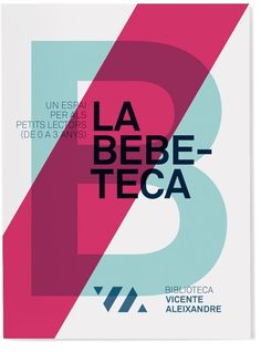 Vicente Aleixandre library visual identity