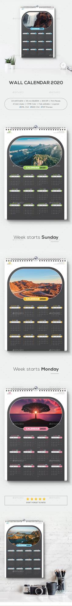 Wall Calendar 2020 - Calendars Stationery Desk Calendar 2020 👇👇More Info /Download : https://graphicriver.net/item/wall-calendar-2020/25008922 #graphicriver #deskcalendar #calendar2020 #calendar #print #stationary #freepik #fiverr #upwork #mstartwork #Behance #Freelance #creative #art #design #envato
