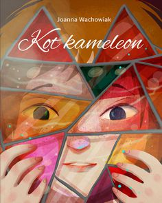 The chameleon cat / Kot kameleon #illustration #character #book #art