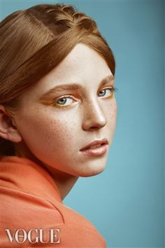 Beauty Shoot by Isaías Zavala • She's Madeline • A girl who's trying to fit in the society VOGUE.IT SELECTED