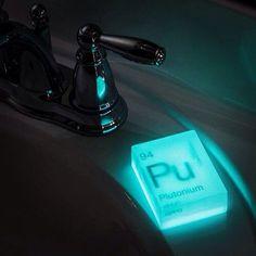 Glow in the Dark Nuclear Element Soap #tech #flow #gadget #gift #ideas #cool