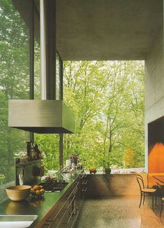 http://aufschnitt.tumblr.com/post/39651053016/peter zumthor 1986 kitchen #architecture #peter zumthor #1986