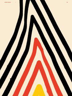 GOODBYE MOUNTAIN - Korbel-Bowers #illustration #colors #lines
