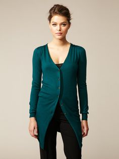 Dolce #fashion #cardigan #color #teal