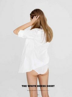 tumblr_lyc22ivirC1qmpptko1_1280.jpg (955×1280) #shirt #fashion #white #dress