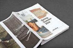 2014 lookbook for Swedish clothing brand Elvine designed by Lundgren+Lindqvist #magazine