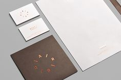 Ahora Joyeros #white #business #branding #card #stationery #logo #foil