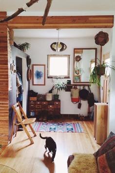 The hippie bohemian house of Emily Katz in Portland