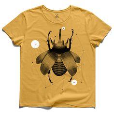 #nano structure #yellow #tee #tshirt #lookingforalaska #fly #kaanbagci #bee #yellow #drawing