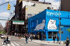 A Look Inside RIPNDIP's NYC Pop-Up Shop Another extraterrestrial-themed space from the Los Angeles-based outfit.