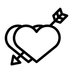 See more icon inspiration related to lover, heart, love, love and romance, inlove, valentines day, loving, like and arrow on Flaticon.