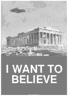 I WANT TO BELIEVE by ~tind on deviantART #print #silkscreen #posters