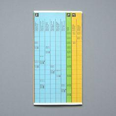 Otl Aicher 1972 Munich Olympics - Timetables #otl #1972 #aicher #olympics #munich