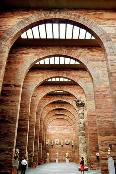 CJWHO ™ (The National Museum of Roman Art, Mérida, Spain by...) #history #spain #museum #merida #design #roman #photography #architecture #art