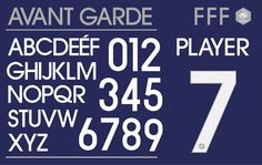 france_home #numbers #france #typeface #custom