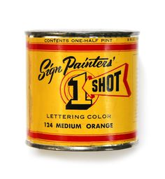Sign Painters' 1 Shot Lettering Color