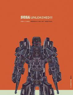 Design;Defined | www.designdefined.co.uk #sega #design #graphic #poster