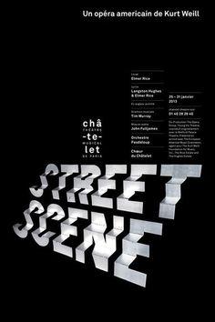 Street Scene #montage #design #graphic #typography