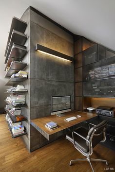 Loft 9b by Dimitar Karanikolov #interior #design #workspace