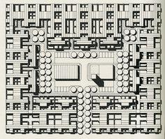 Eduardo Ortiz L. Auca. 41 1981: 12 | RNDRD #eduardo ortiz l auca #architecture #plan #city