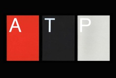 Picture of 3 designed by Pentagram for the project ATP. Published on the Visual Journal in date 1 February 2018