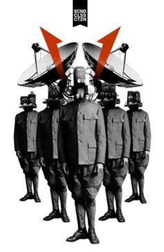 Second Class Citizen Robots - 13decembre - Séverin Boonne #music #fi #collage #sci