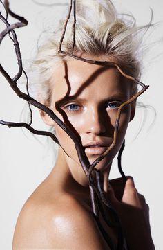Ginta Lapina for James Houston #model #girl #photography #portrait #fashion #editorial #beauty