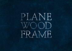 Plane Wood Frame
