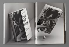 "manystuff.org — Graphic Design daily selection » Blog Archive » Most Beautiful Swiss Books ""The Future Issue"" 2009 – 3-D Renderings #spread #swiss #book"