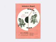 Display   Betoniere Magutt Catalog Studio Boggeri   Collection #cover #vintage #publication #typography