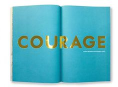 KateSpadecourage #print #gold #foil