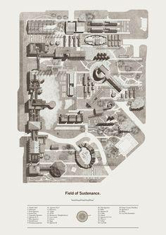 Architecture site plan