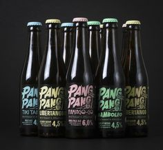 PangPang Brewery Summer Beer Series #packaging #beer #bottle