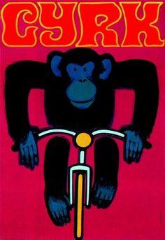 Wiktor Górka CYRK Illustration | Flickr - Photo Sharing! #illustration #circus #retro #poster