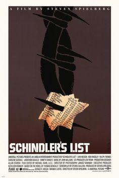 By Saul Bass #bass #steven #icon #schindlers #saul #design #illustration #spielberg #film #list