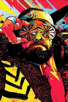 I Love Dust presents Dead Wrestlers Society #illustration