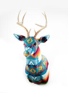 Pendleton Buck by Faraway Lovely #pendleton #deer #antler #lovely #faraway