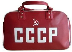 cccp-retro-print-holdall-red.jpg (Immagine JPEG, 400x292 pixel) #fashion #bag