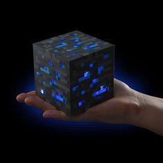Minecraft Light-Up Diamond Ore #tech #flow #gadget #gift #ideas #cool