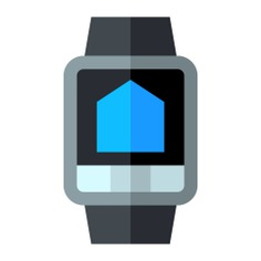 See more icon inspiration related to watch, smartwatch, smart watch, time and date, wristwatch, electronics, electronic, device, house, home, multimedia, smart and technology on Flaticon.