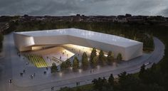 Museum of Tolerance in Jerusalem / Chyutin Architects - eVolo | Architecture Magazine #architecture