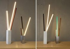 RUX design: stickbulb lamp